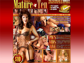mature 4 Ten - Watch these horny sluts fuck like crazy