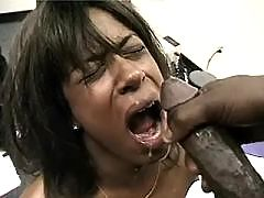 White dude takes advantage of ebony